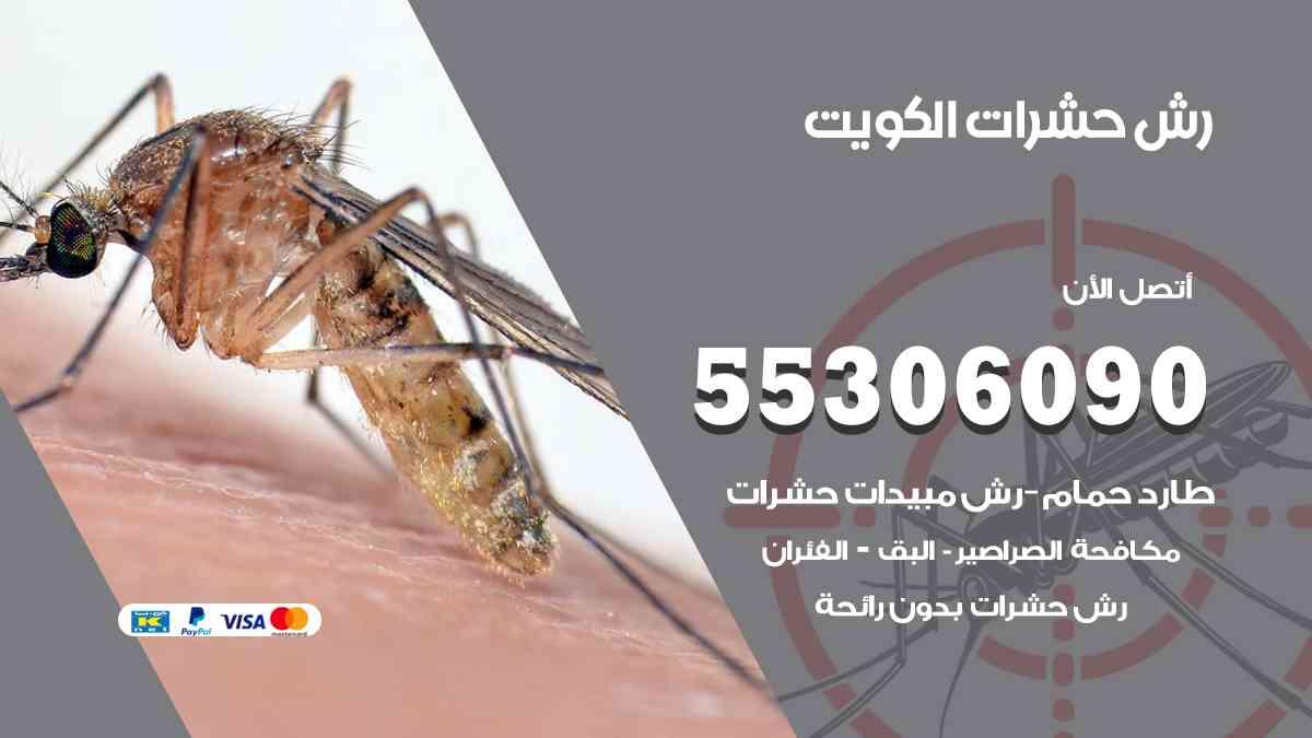 رش حشرات الكويت