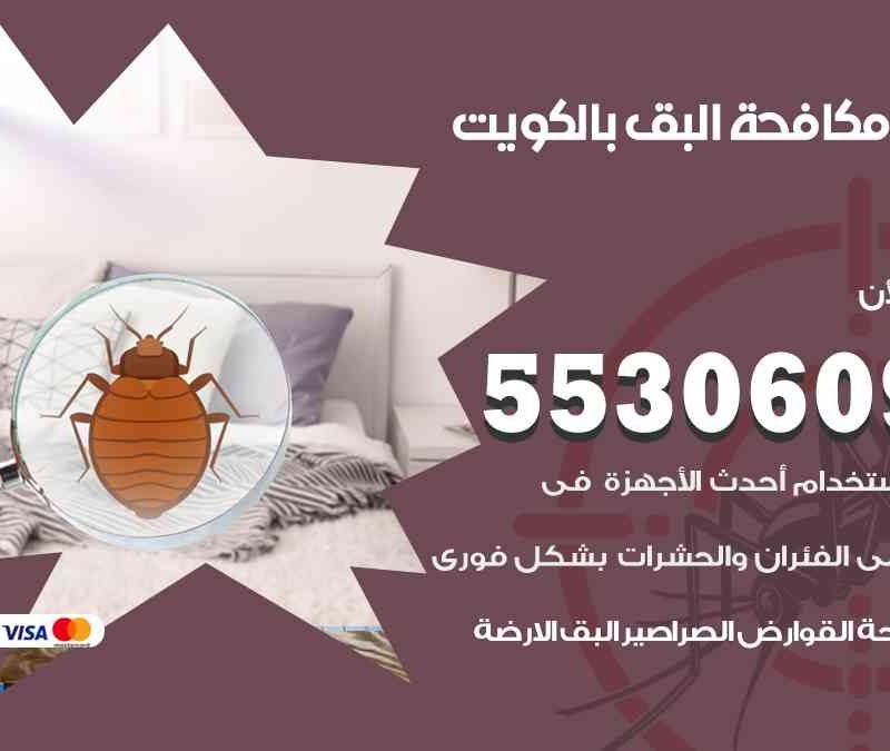 شركة مكافحة البق بالكويت 55306090 شركة مكافحة و رش حشرات وقوارض