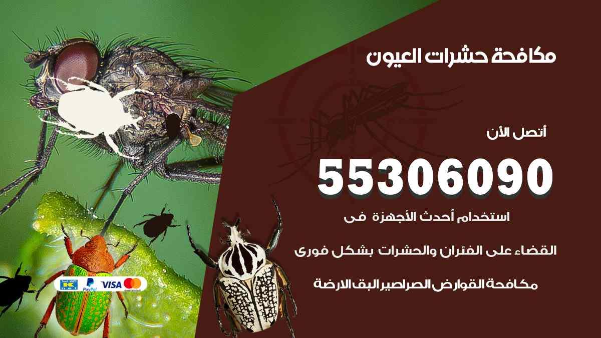 مكافحة حشرات العيون