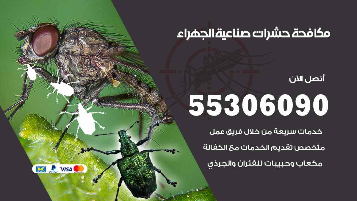 مكافحة حشرات صناعية الجهراء