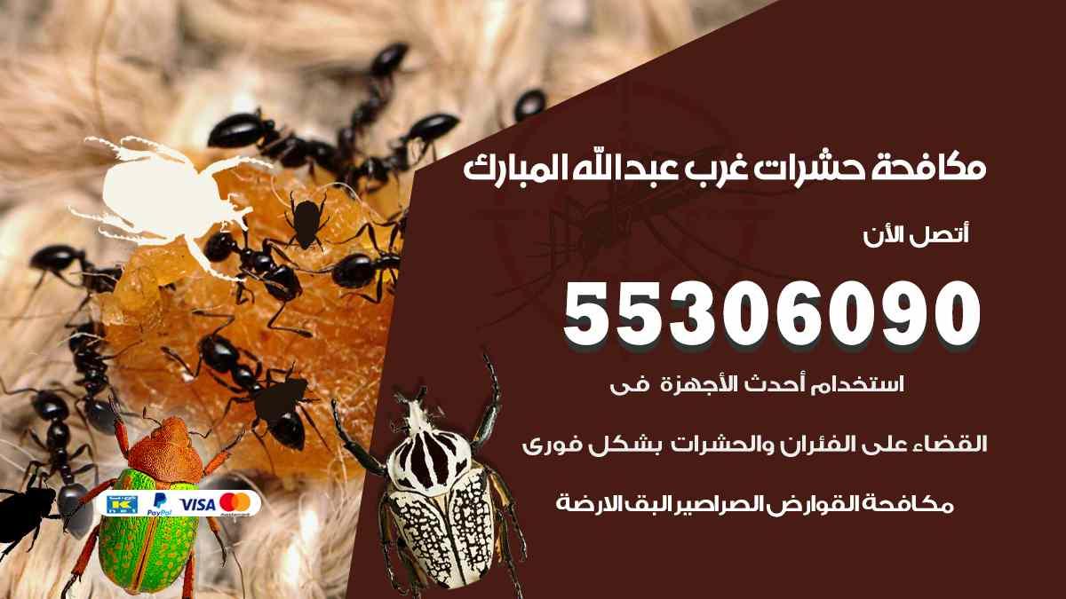 مكافحة حشرات غرب عبد الله المبارك