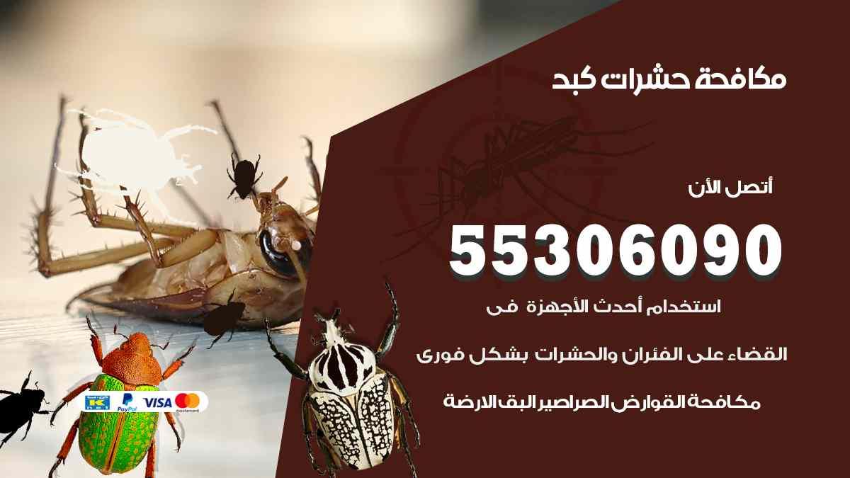 مكافحة حشرات كبد