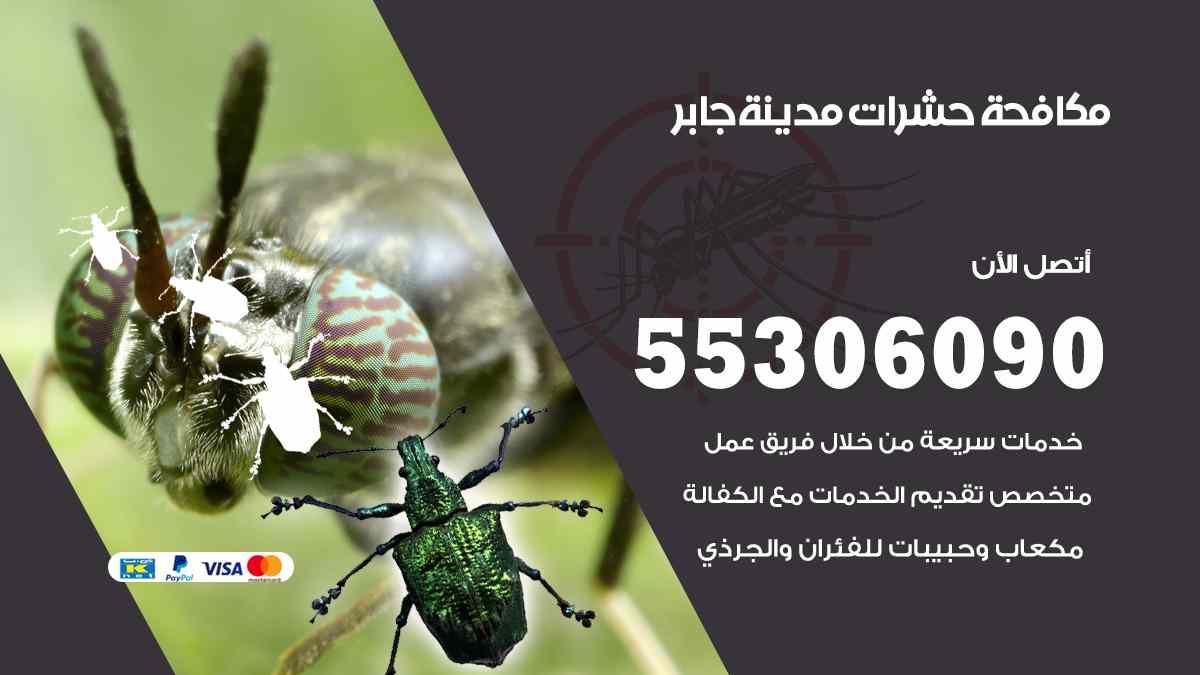 مكافحة حشرات مدينة جابر