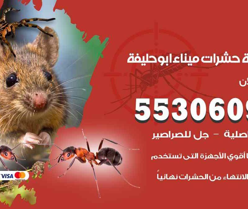 مكافحة حشرات ميناء ابو حليفة 55306090 شركة مكافحة و رش حشرات وقوارض