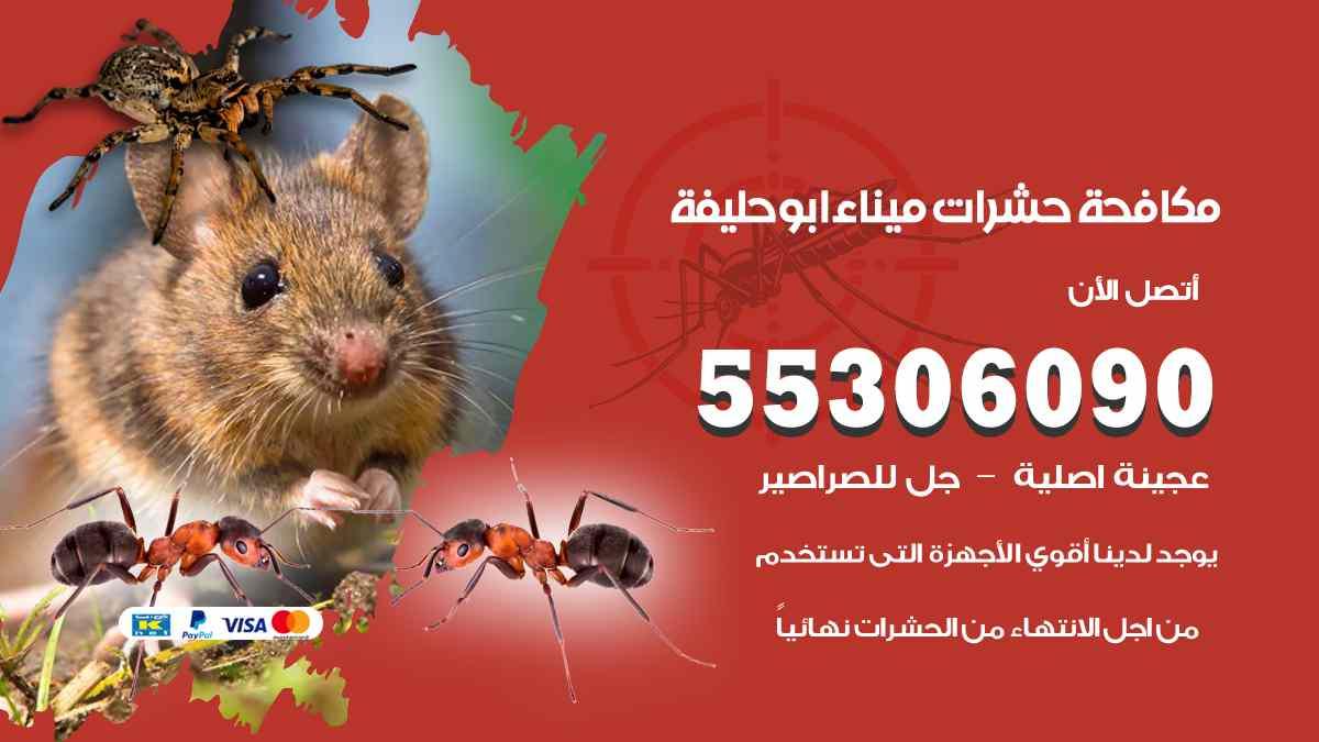 مكافحة حشرات ميناء ابو حليفة