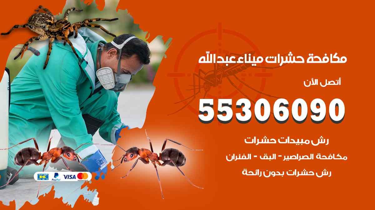 مكافحة حشرات ميناء عبد الله